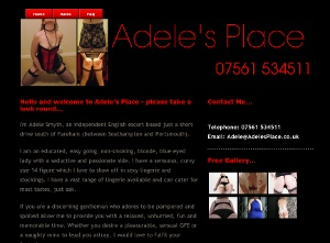 Adele - Website by YourEscortSite.com
