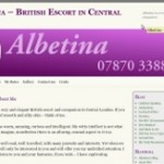 Albetina - Website by YourEscortSite.com